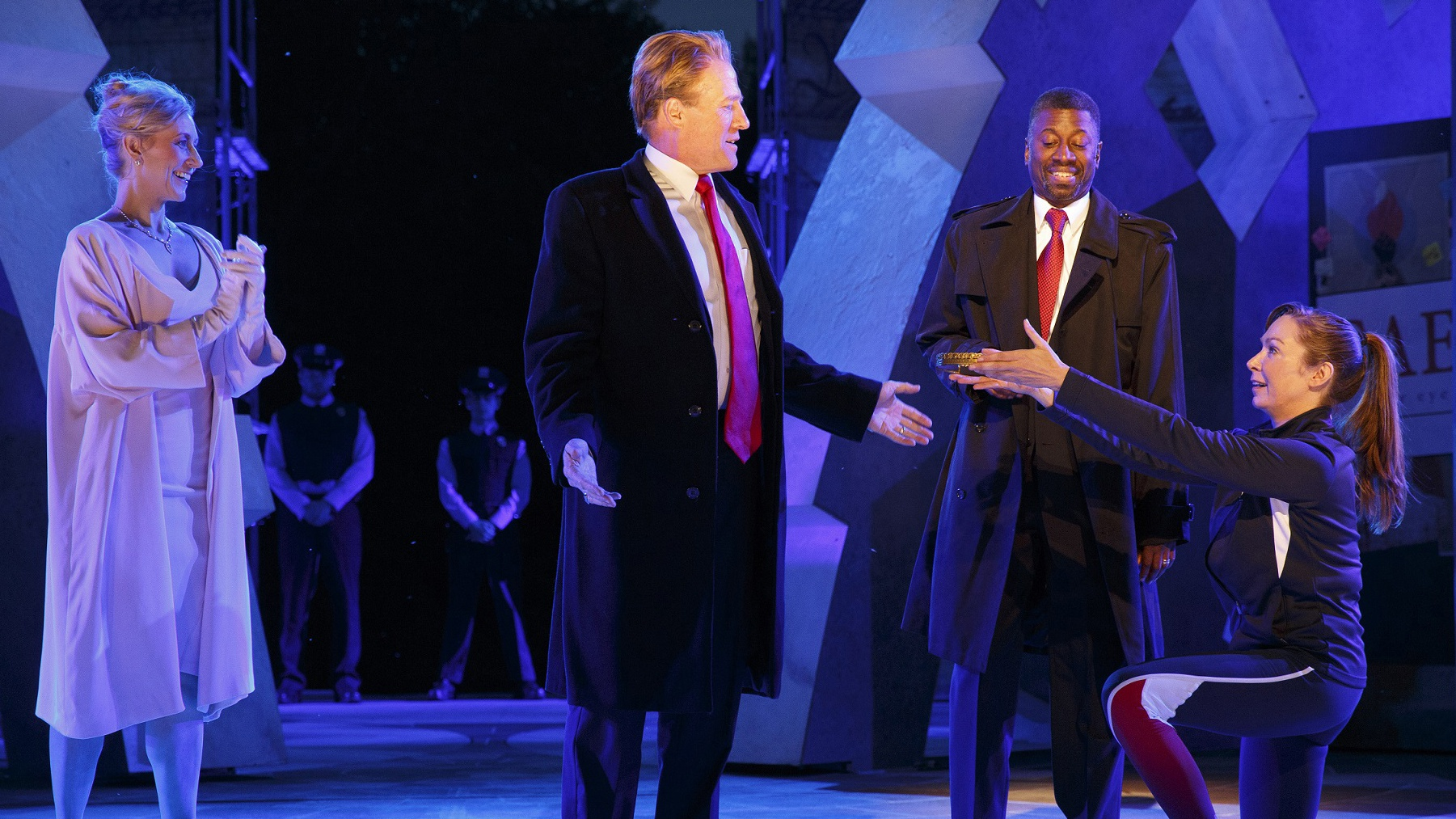 Shakespeare in the Park's Julius Caesar Celebrates Opening Night