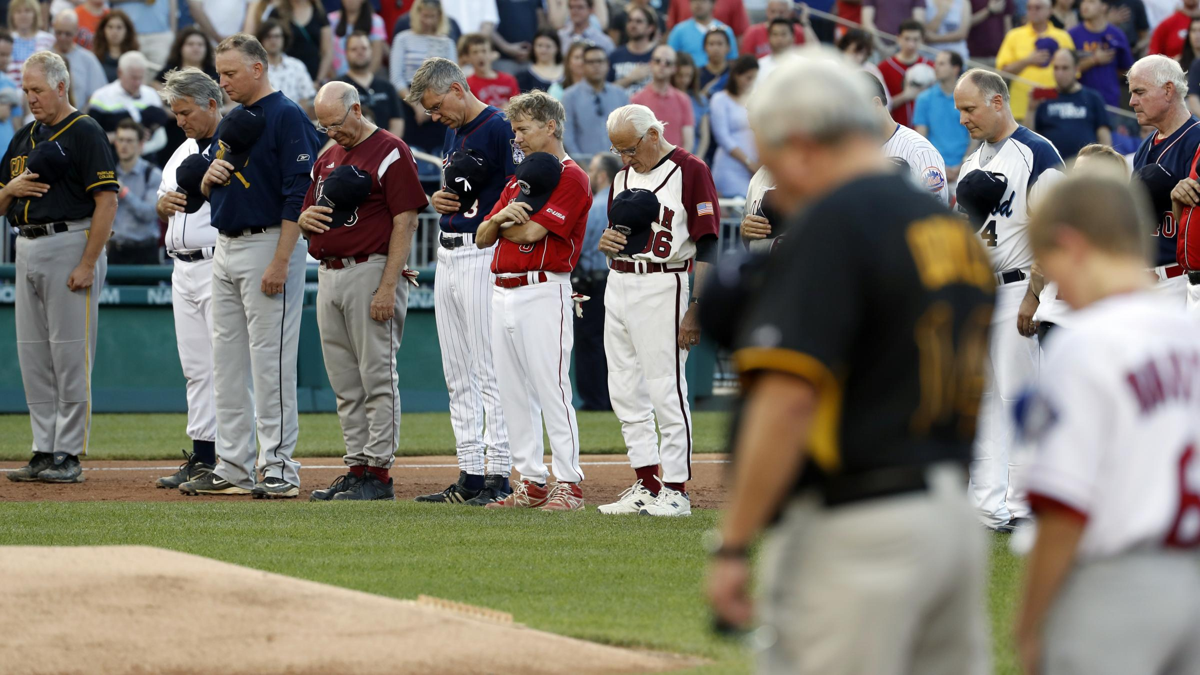 Rivals 'all Team Scalise' as political baseball clash honours shot Republican