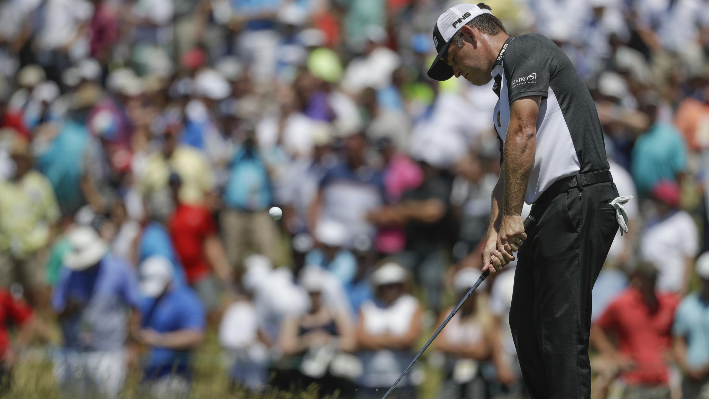 Justin Thomas enjoys record third round at US Open